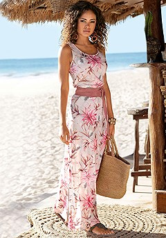 Floral Maxi Dress product image (X30112RDPR)