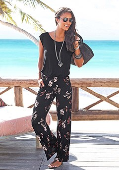 2-in-1 Look Jumpsuit product image (X31002-BKPR_01)