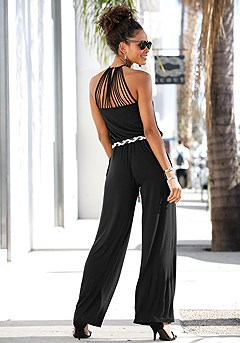 Strappy Back Jumpsuit product image (X31016-BK-00-S)
