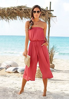 Strapless Culotte Jumpsuit product image (X31046RD_1_M)
