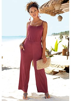 Tie Back Jumpsuit product image (X31053WI_1)