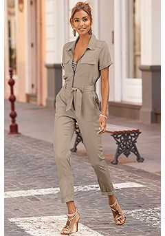 Cargo Style Jumpsuit product image (X31076SA_1)