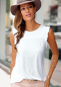 Sleeveless Top product image (X33052WH_00)