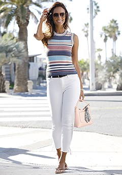 Striped Ribbed Tank Top product image (X33086-MUPR-01S)
