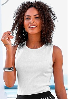 2 Pk Basic Tank Tops product image (X33087.BKWH.1111-S)