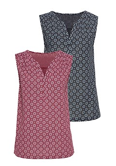 2 Pk Floral Tank Tops product image (X33090-BYNV-00)