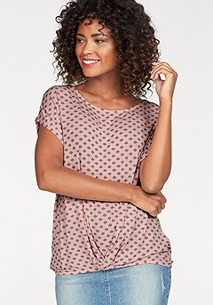 Flattering Ruched Waist Top product image (X34053RSPA_00)