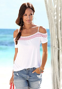 Cold Shoulder Top product image (X34104_WHRD_M)