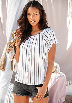Striped Carmen Top product image (X34144-WHST-01-S)