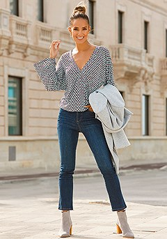 Straight Leg Denim Pants product image (X34151-TQMU.F09016-DE)