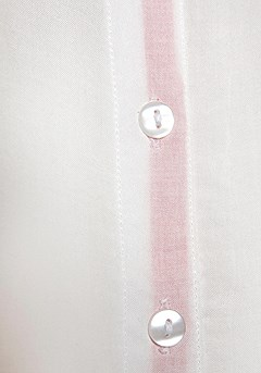 Button Up Blouse, High Waisted Jeans product image (X34404.COWH.1)