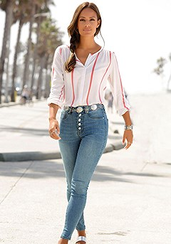 Button Up Blouse product image (X34404.COWH.5.X38172)