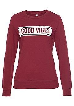 Good Vibes Sweatshirt product image (X36024WI_2)