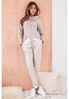 Zebra Print Lounge Pants product image (X36078.A.1)
