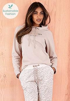 Vibes Hoodie, Zebra Print Lounge Pants product image (X36078.NG.X38211_6)
