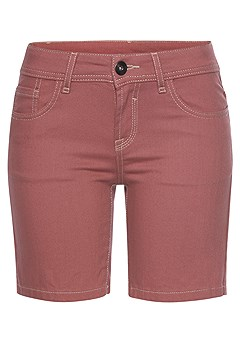 Cuffed Denim Shorts product image (X37001.BY_3.P)