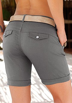 Casual Roll Up Shorts product image (X37005_OL_00)