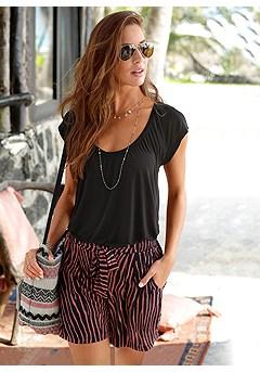 Tie Waist Shorts product image (X37011ZE)