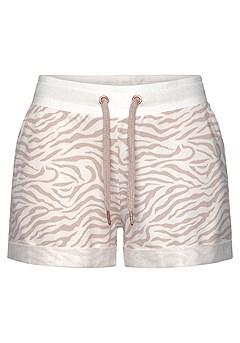 Drawstring Lounge Shorts product image (X37038NGZE_4)