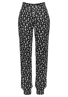Spaghetti Straps Top, Patterned Pants product image (X38012.BKPR.1)