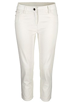 Skinny Leg Cropped Pants product image (X38041.WH.02)