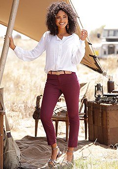 Skinny Leg Cropped Pants product image (X38041WI_1)