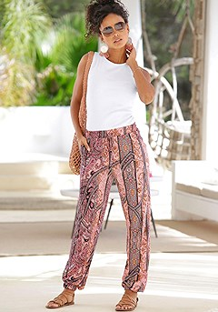 Patterned Jogger Pants product image (X38056.MUPR.X33087.BKWH.1)