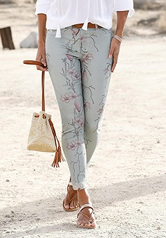 Floral Print Jeggings product image (X38062-MTPR-02)
