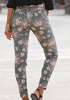 Floral Print Jeggings product image (X38062.BKPR.2)