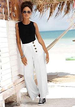 Wide Leg Pants product image (X38163WH_1)