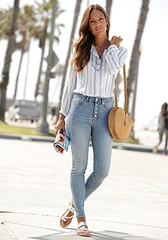 High Waisted Jeans product image (X38172.DE.X34404.BLST)