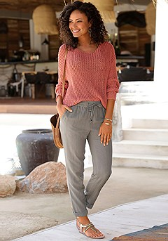 Loose Knit Sweater product image (X38174.KH.X36059.RD.1)
