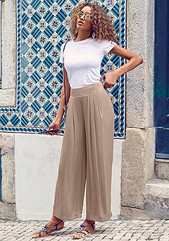 Airy Palazzo Pants product image (X38187BR_1)