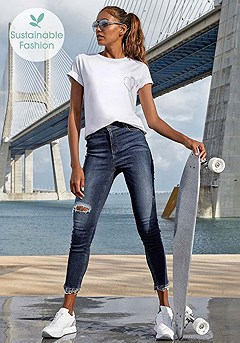 High Waisted Jeans product image (X38188DE_and_F05006WHPR_1)