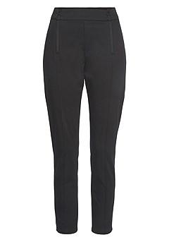 Zipper Detail Pants product image (X38228BK_2)