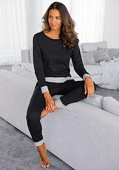 Polka Dot Pajama Set product image (X39013.BDOT_1)