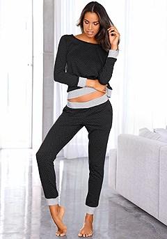 Polka Dot Pajama Set product image (X39013BDOT_00)