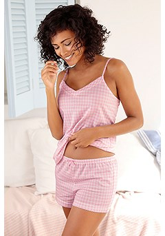 Patterned Short Style Pajama Set product image (X40043RS)
