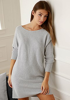 Ribbed Sleepshirt product image (X41009-GYMO-001S)
