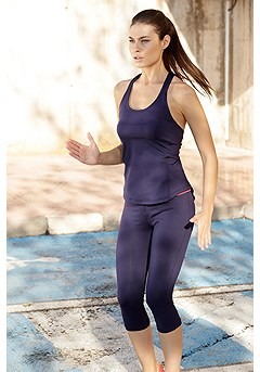 Racerback Active Tank Top product image (X45007_NV)