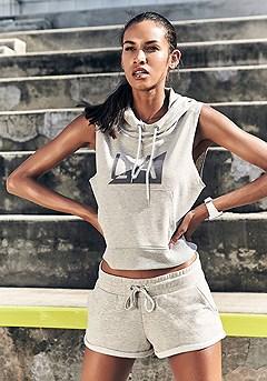 Athleisure Shorts product image (X45021-GYMO-X56028-GYMO-000S)