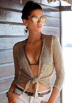 Sheer Open Cardigan product image (X48007SA_00)