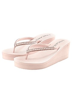 Pearl Wedge Sandal product image (X60009-RS-000)