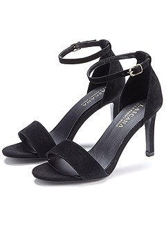 Buckle Strap Heel product image (X60014.BK.CP)
