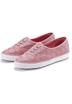 Embroidered Canvas Sneaker product image (X60016.RS.CP)