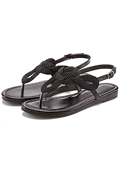 Braided Sandals product image (X60018-BK-00-S)