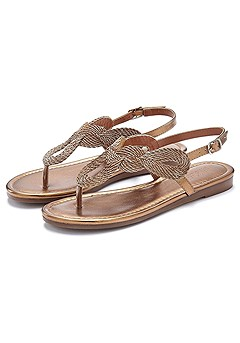Braided Sandals product image (X60018-BRZE-00-S)