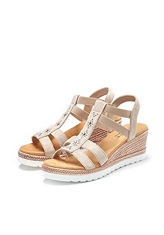 Espadrille Wedge Sandals product image (X60022-SA-00)