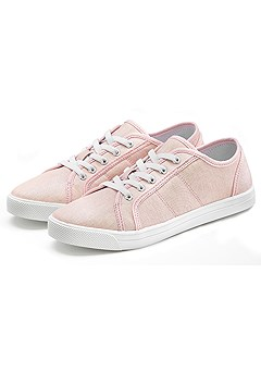 Comfortable Glitter Sneaker product image (X60062RS_33)