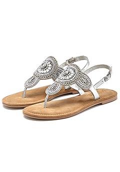 Rhinestone Embellished Sandals product image (X60072SL_1)